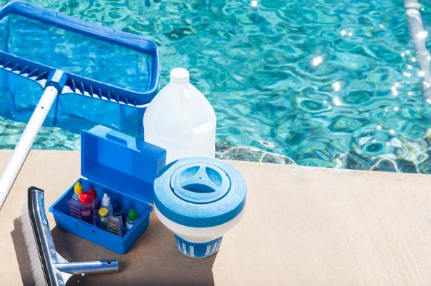 Этапы чистки плавательного бассейна