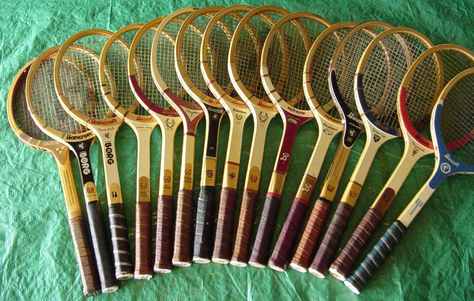 Теннисные ракетки: немного истории и особенности современных изделий