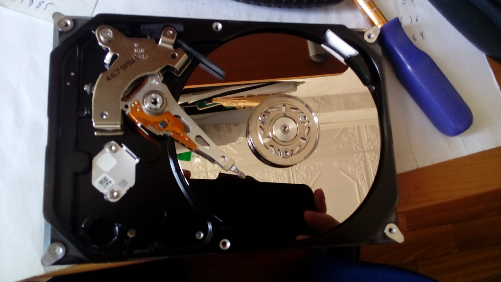 Спасение жесткого диска